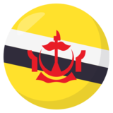 Flag: Brunei on JoyPixels 3.0