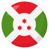 Flag: Burundi on JoyPixels 3.0