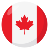 Flag: Canada on JoyPixels 3.0