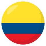 Flag: Colombia on JoyPixels 3.0