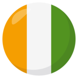 Flag: Côte d'Ivoire on JoyPixels 3.0
