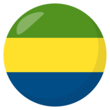 Flag: Gabon on JoyPixels 3.0