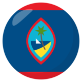 Flag: Guam on JoyPixels 3.0