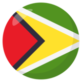 Flag: Guyana on JoyPixels 3.0
