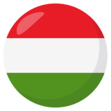Flag: Hungary on JoyPixels 3.0