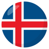 Flag: Iceland on JoyPixels 3.0
