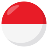Flag: Indonesia on JoyPixels 3.0