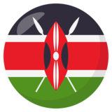 Flag: Kenya on JoyPixels 3.0