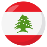 Flag: Lebanon on JoyPixels 3.0