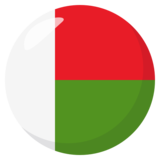 Flag: Madagascar on JoyPixels 3.0
