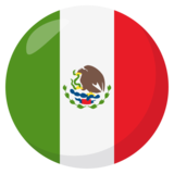 Flag: Mexico on JoyPixels 3.0