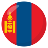Flag: Mongolia on JoyPixels 3.0