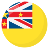 Flag: Niue on JoyPixels 3.0