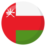 Flag: Oman on JoyPixels 3.0