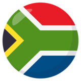 Flag: South Africa on JoyPixels 3.0