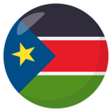 Flag: South Sudan on JoyPixels 3.0