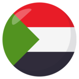 Flag: Sudan on JoyPixels 3.0