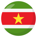 Flag: Suriname on JoyPixels 3.0