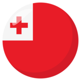 Flag: Tonga on JoyPixels 3.0