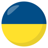 Flag: Ukraine on JoyPixels 3.0