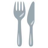 Fork and Knife on EmojiOne 3.0