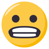 Grimacing Face on EmojiOne 3.0