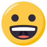 Grinning Face on EmojiOne 3.0
