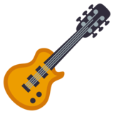 Guitar on EmojiOne 3.0