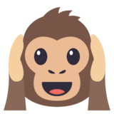 Hear-No-Evil Monkey on JoyPixels 3.0