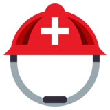 Rescue Worker's Helmet on JoyPixels 3.0