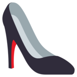 High-Heeled Shoe on JoyPixels 3.0