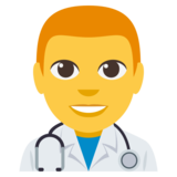 Man Health Worker on EmojiOne 3.0