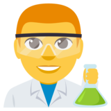 Man Scientist on EmojiOne 3.0