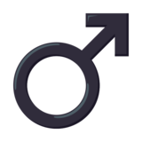 Male Sign on JoyPixels 3.0