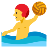 Man Playing Water Polo on JoyPixels 3.0