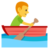 Man Rowing Boat on JoyPixels 3.0