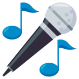 Microphone on EmojiOne 3.0