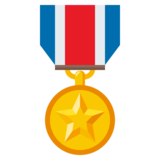 Military Medal on JoyPixels 3.0