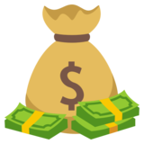 Money Bag on EmojiOne 3.0