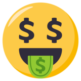 Money-Mouth Face on EmojiOne 3.0