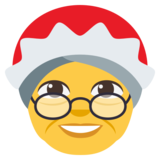 Mrs. Claus on JoyPixels 3.0