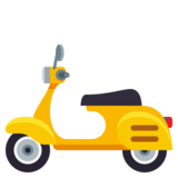 Motor Scooter on JoyPixels 3.0