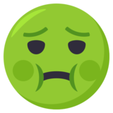 Nauseated Face on EmojiOne 3.0