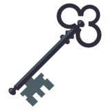 Old Key on EmojiOne 3.0