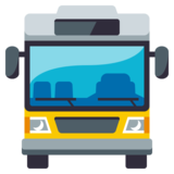 Oncoming Bus on EmojiOne 3.0