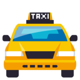 Oncoming Taxi on JoyPixels 3.0