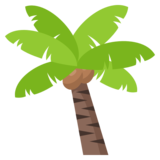Palm Tree on EmojiOne 3.0
