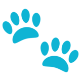 Paw Prints on JoyPixels 3.0
