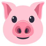 Pig Face on JoyPixels 3.0
