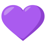 Purple Heart on EmojiOne 3.0